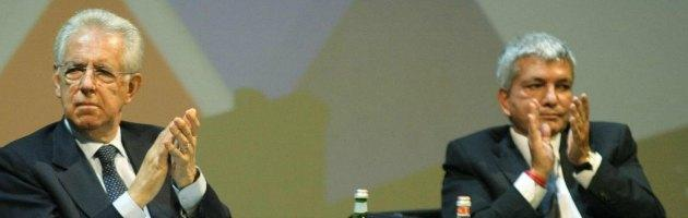 Mario Monti e Niki Vendola