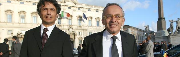 Giuseppe Mussari e Antonio Vigni