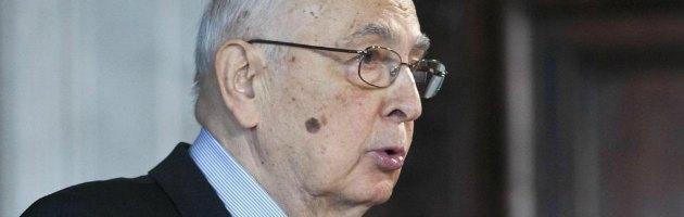 """Napolitano: """"Non scioglierò le Camere e dubito che lo farà il mio successore"""""""
