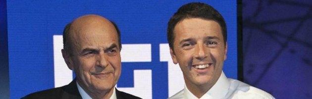 Renzi sfida Grillo dall'interno del Pd. Oggi la direzione: Bersani proverà a governare