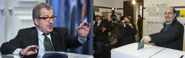 Roberto Maroni e Nicola Zingaretti