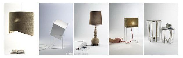 lampade di cartone