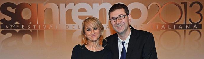 Sanremo 2013 Fazio e Littizzetto
