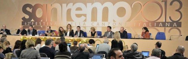 Sanremo 2013 - Conferenza Stampa