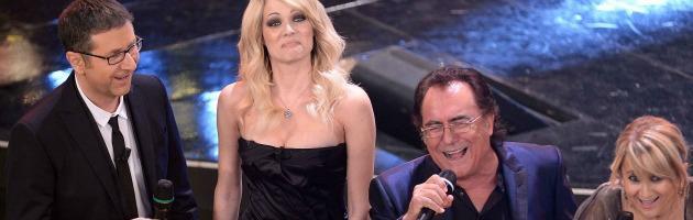 Laura Chiatti e Al Bano a Sanremo 2013