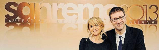 Sanremo 2013 - Littizzetto e Fazio