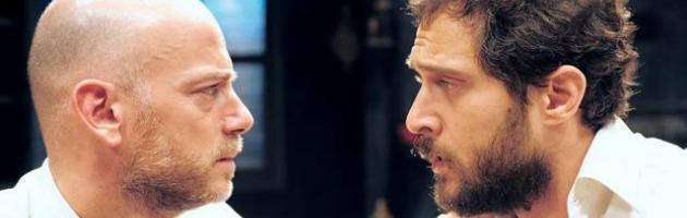 Claudio Santamaria e Filippo Nigro, fratelli in conflitto sul palco di San Giovanni