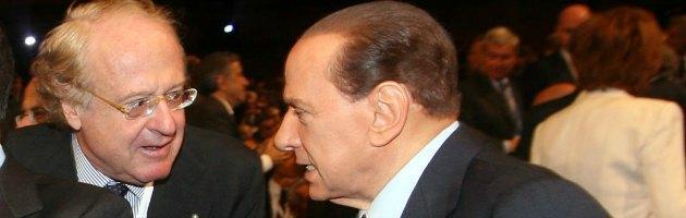 Paolo Scaroni e Silvio Berlusconi