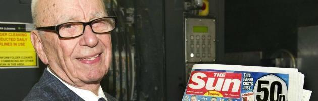 Rupert Murdoch e il Sun