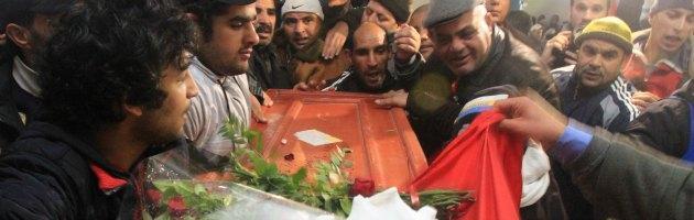 Tunisia Funerali Belaid