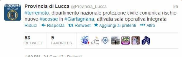 Twitter Provincia Lucca