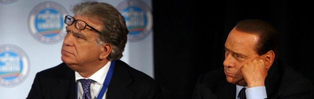 Denis Verdini e Silvio Berlusconi