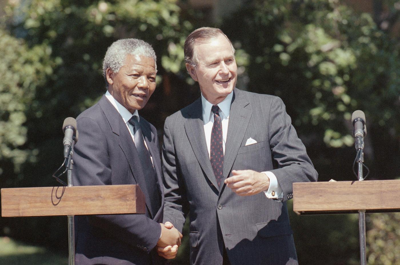 1990 - Con George Bush