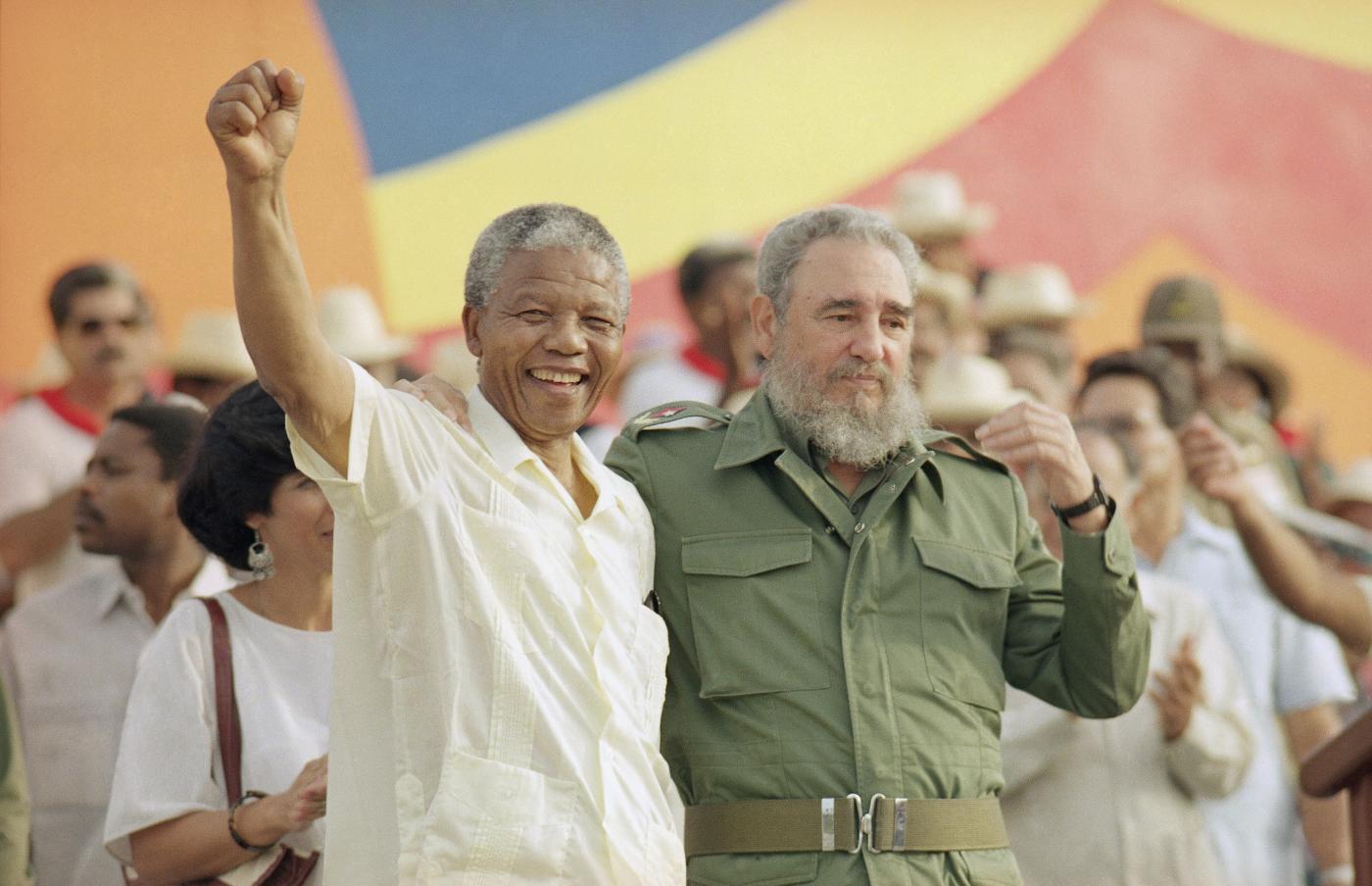 1991 - Con Fidel Castro