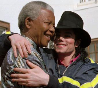 1996 - Con Michael Jackson