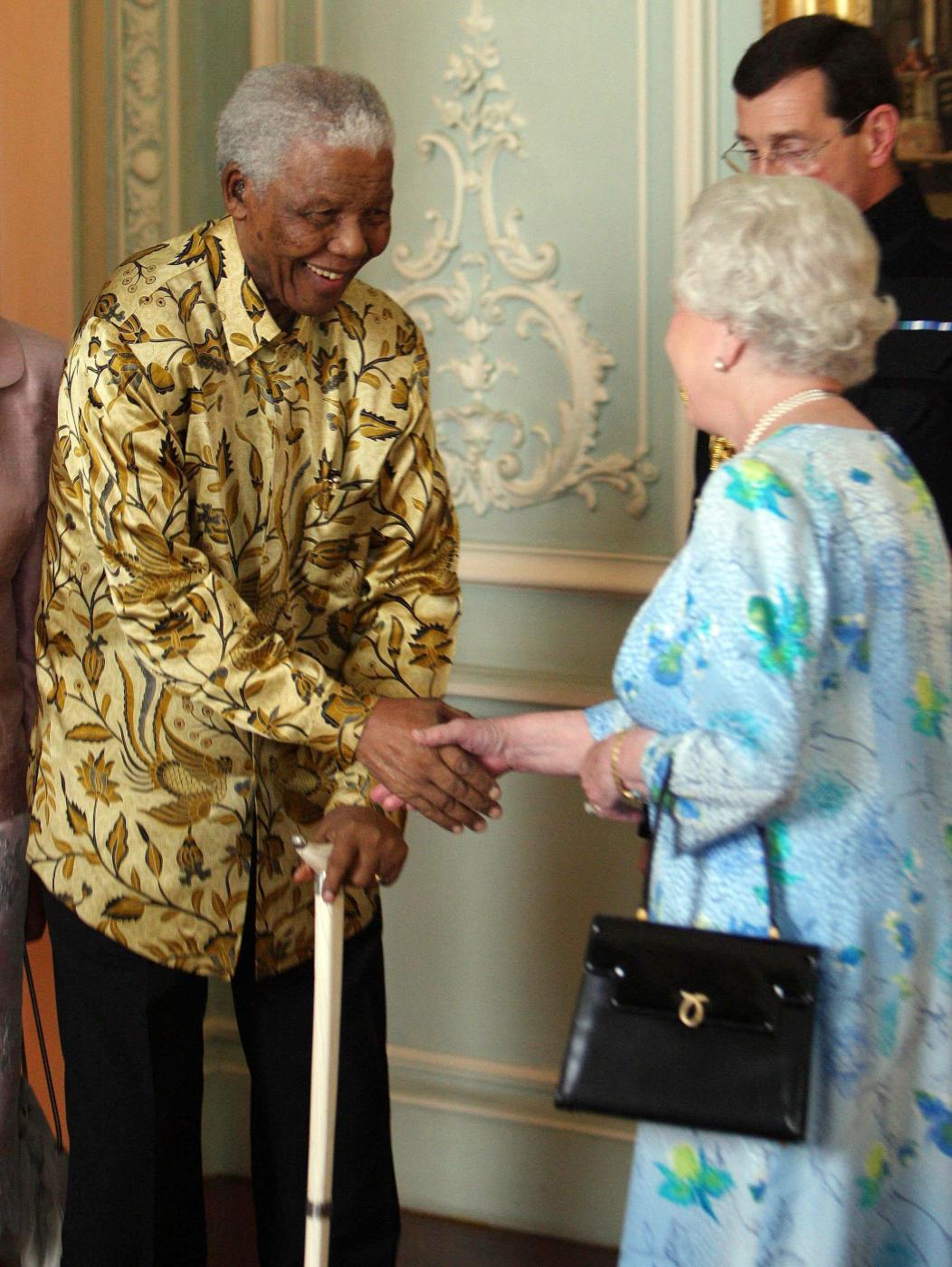 2008 - Con Elisabetta d'Inghilterra