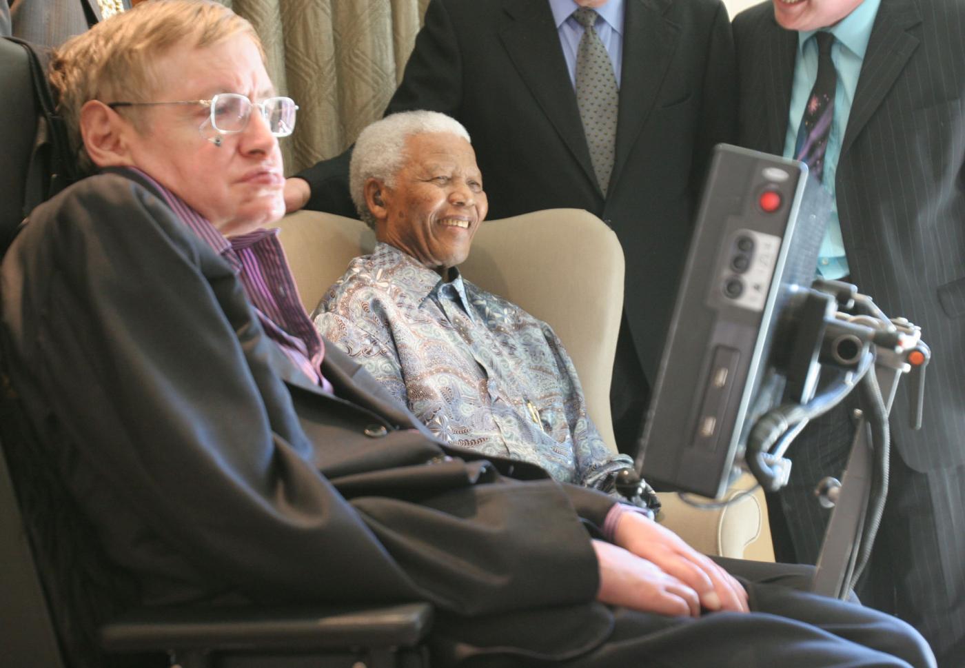 2008 - Con Stephen Hawking