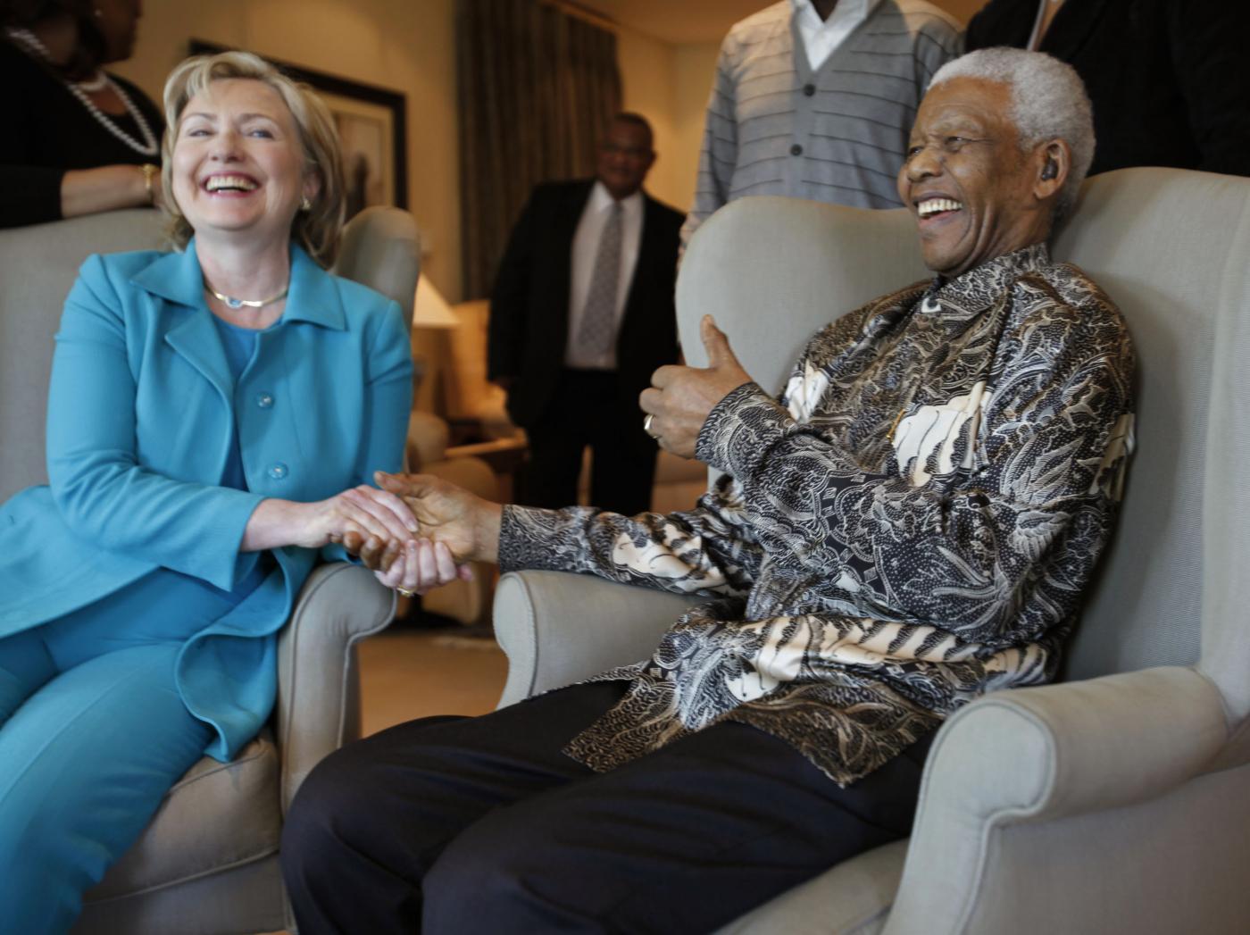 2009 - Con Hillary Clinton