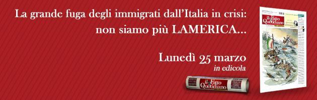 Il Fatto del lunedì: immigrati, la grande fuga dall'Italia