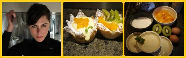 La ricetta di Alessia Vicari: la diplomazia della crostata alla crema