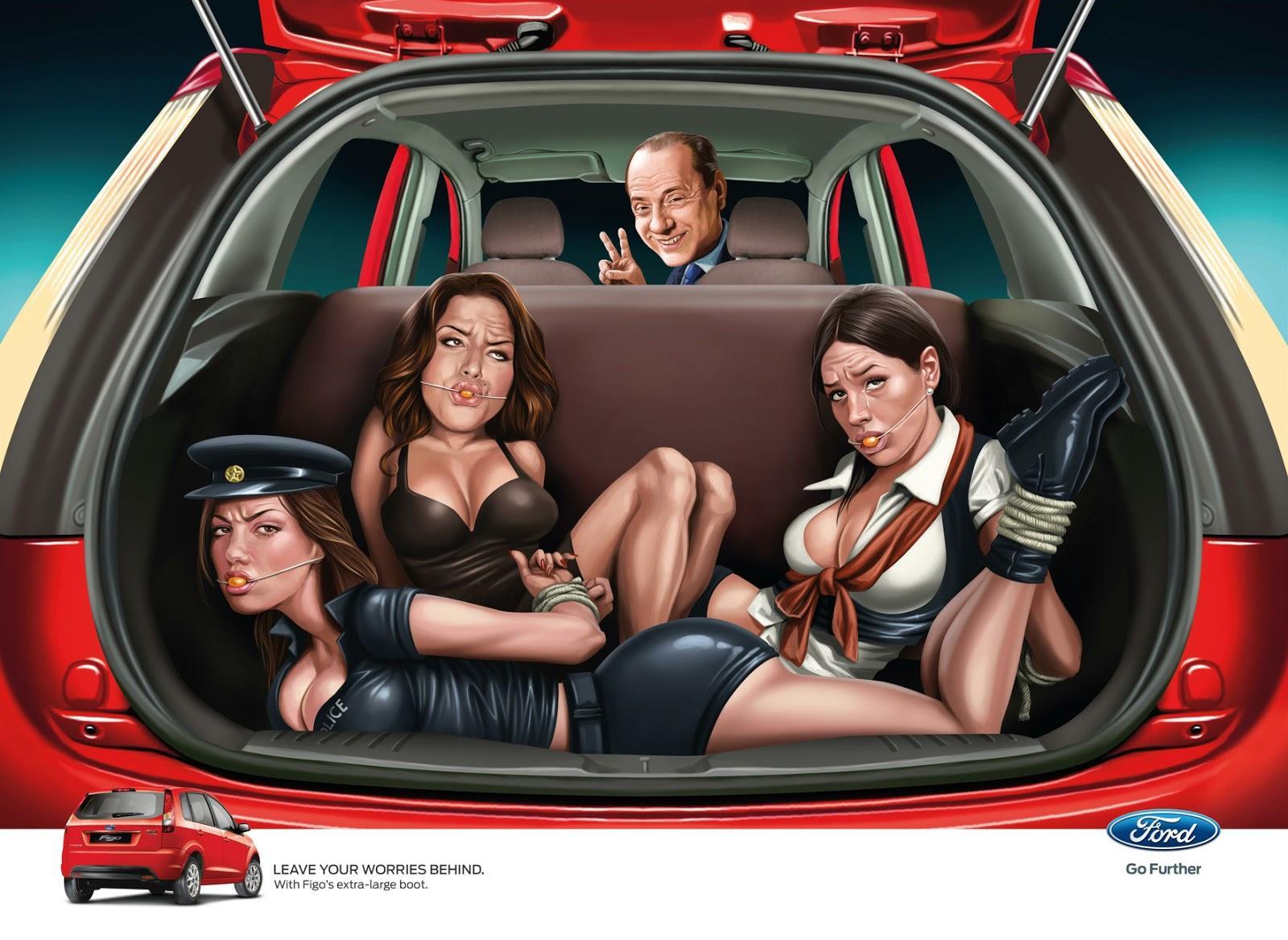 Ford Figo - Berlusconi