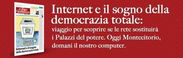Il Fatto del lunedì: Internet e il sogno della democrazia totale