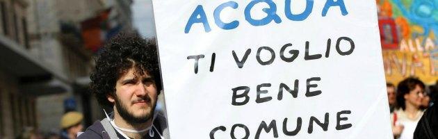 Acqua pubblica anche a Roma, uno studio del Crap ne dimostra la fattibilità