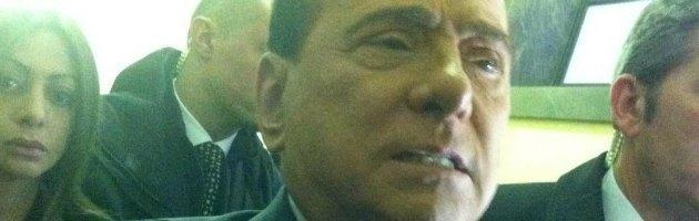 Silvio Berlusconi in tribunale
