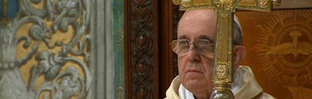 Papa Bergoglio prima messa
