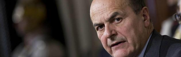 """Bersani: """"Non cedo a Berlusconi, governissimo non è la risposta"""""""