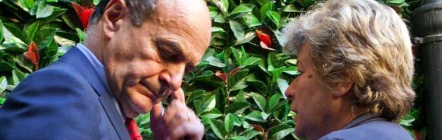 Pierluigi Bersani e Susanna Camusso