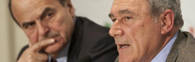 Pierluigi Bersani e Piero Grasso