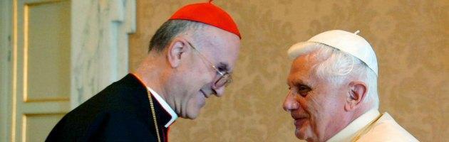 Cardinal Bertone e Benedetto XVI