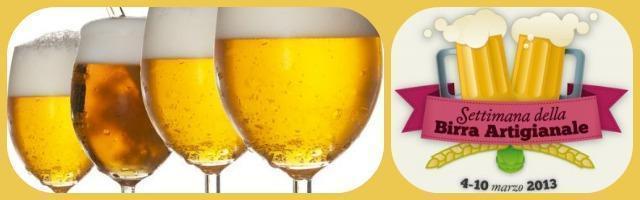 La settimana della birra e gli altri appuntamenti in tutta Italia a marzo