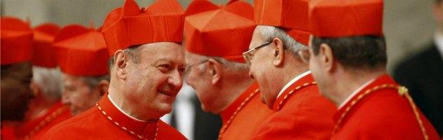 Cardinali Ravasi e Angelo Sodano