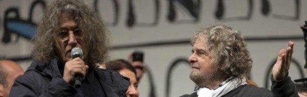 Beppe Grillo and Gianroberto Casaleggio
