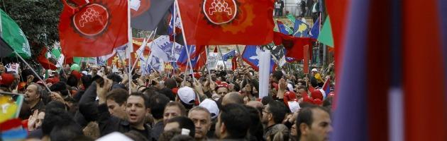 Manifestazione Cipro