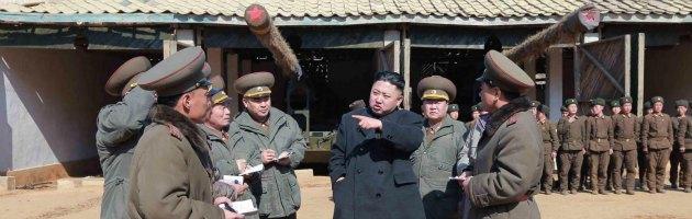 """Corea del nord: """"stato di guerra contro il sud"""". minacce agli usa"""