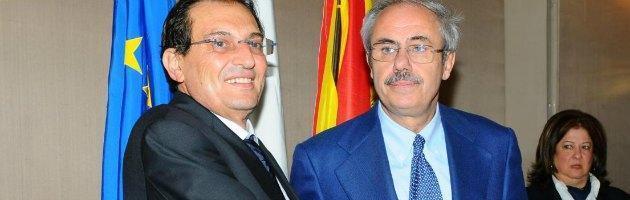Rosario Crocetta e Raffaele Lombardo