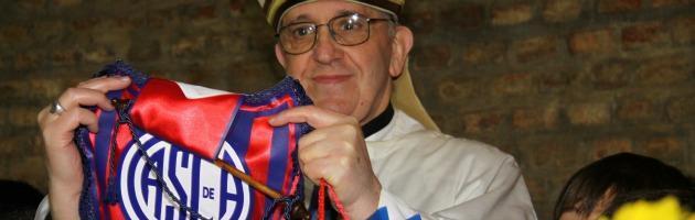 Papa Francesco tifoso San Lorenzo de Almagro