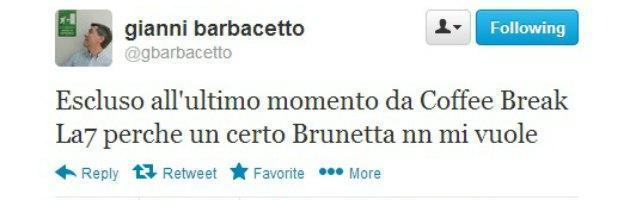 Twitter Gianni Barbacetto