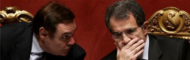 Clemente Mastella e Romano Prodi