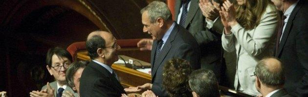 Pietro Grasso e Renato Schifani