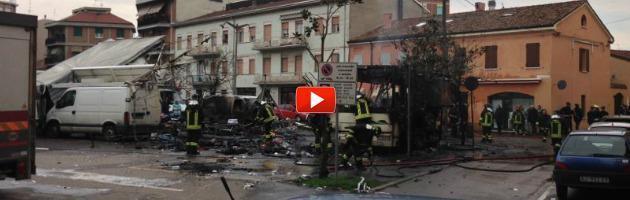 """Esplosione al mercato di Guastalla, gli abitanti: """"Peggio del terremoto"""""""