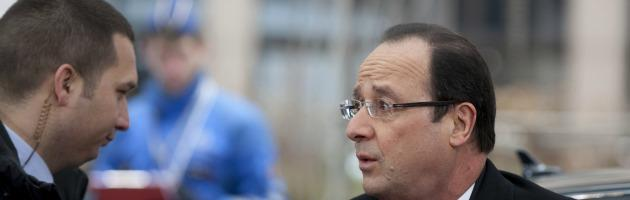 """Siria, il presidente Hollande: """"La Francia non interverrà da sola"""""""