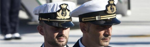 I marò Salvatore Girone e Massimiliano Latorre