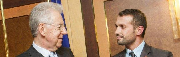 Mario Monti e Salvatore Girone