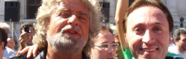 Beppe Grillo e Marino Mastrangeli