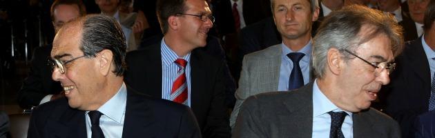 Gian Marco e Massimo Moratti