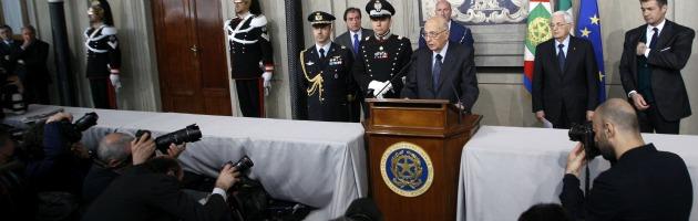 """L'autodifesa di Napolitano: """"Mancano le donne tra i saggi? Si sfiora il ridicolo"""""""